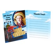 Farm Tractor Personalized Thank You Notes