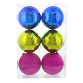 Fashion Bright 150mm Ornament Set (6)