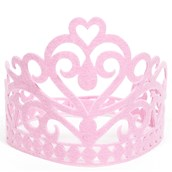 Felt Pink Fairytale Crown