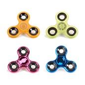 Fidget Spinner- Hot Pink, Cobalt Blue Metallic & Orange, Yellow Glow in the Dark (4)