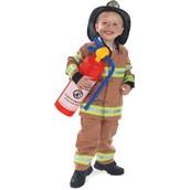 Firefighter Child Costume (Tan)