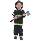 Firefighter Costume Toddler/Child (Black)