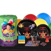 Five Nights at Freddy's 16 Guest Party Pack and Helium Kit