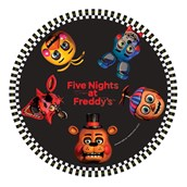 Five Nights at Freddy's Dinner Plates
