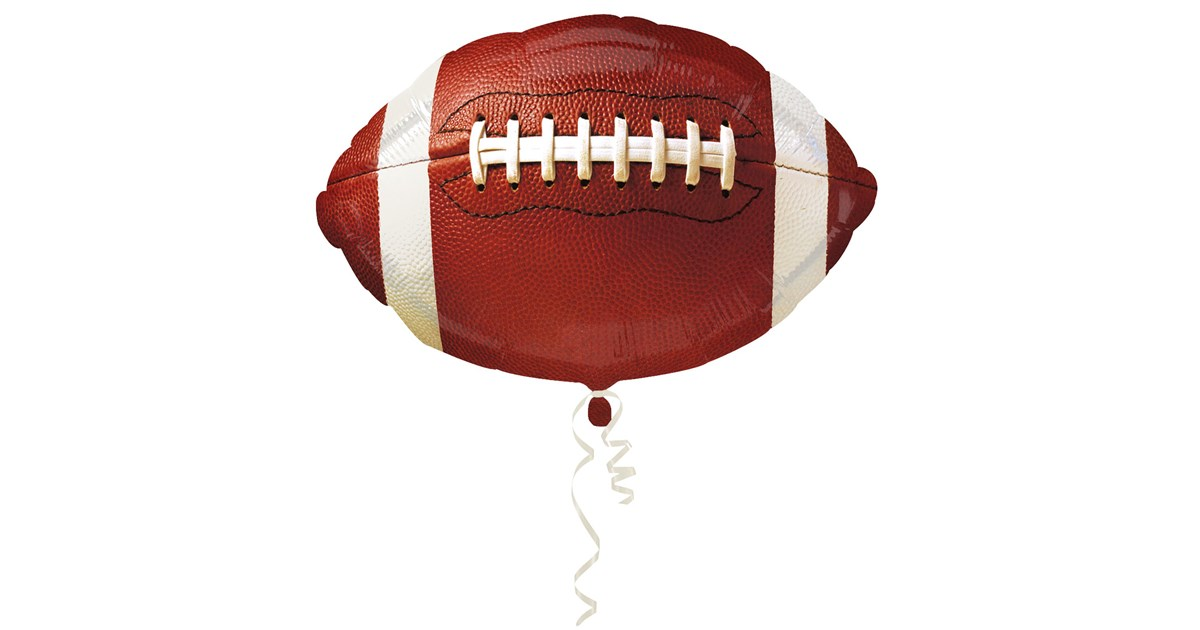 Football Foil Balloon Birthdayexpress Com