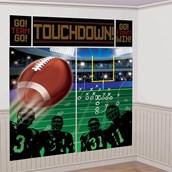 Football Scene Setter Wall Decorating Kit