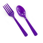 Forks & Spoons - Purple
