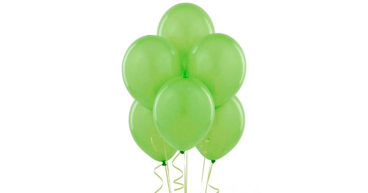 fresh lime  lime green  balloons  6