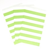 Fresh Lime Striped Paper Bags (15)