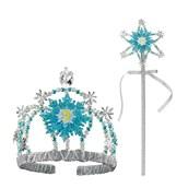Frozen Elsa Tiara & Wand Kit