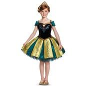 Frozen: Kids Prestige Anna Coronation Gown Tutu Costume