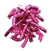 Fuchsia Mix Curl Swirl Bow