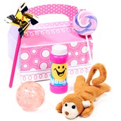 Fun at One Girl Filled Favor Box