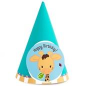 Giraffe Cone Hats