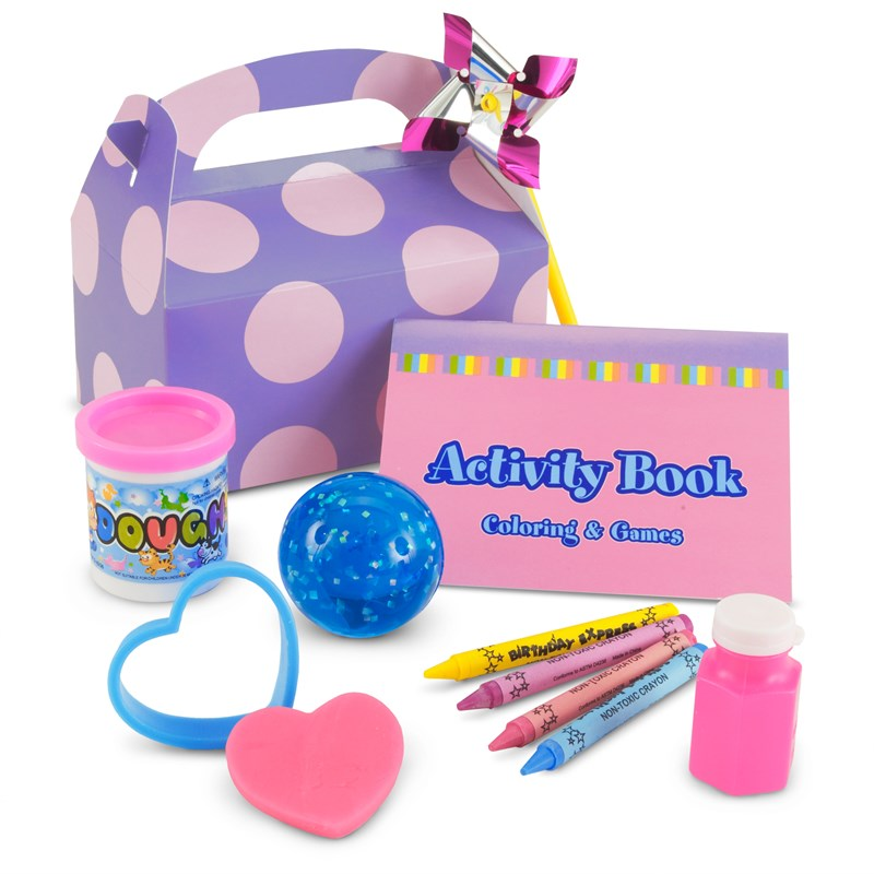 Girl's Lil' Cupcake 1st Birthday Party Filled Favor Box