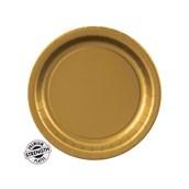 Dessert Plate - Gold