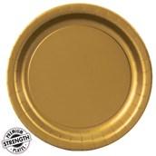 Dinner Plate - Gold