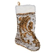 Gold & Silver Reversible Sequin Stocking