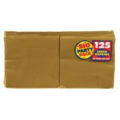 Gold Big Party Pack - Lunch Napkins