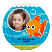 Goldfish Personalized Dinner Plates (8)