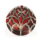 Goth Red Dessert Plates (8)