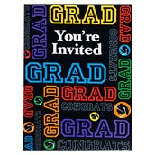 Grad Party Invitations (8)