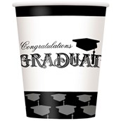 Graduation 9oz. Paper Cups (8)