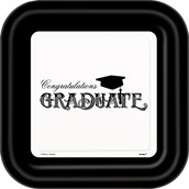 Graduation Dinner Plates (8)