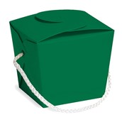 Green Pint Size Empty Favor Pail