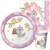 Happi Woodland Girl Snack Party Pack