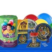 Harry Potter 16 Guest Party Pack + Helium Tank