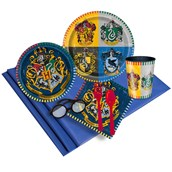 Harry Potter 16 Guest Party Pack with Molded Cups & Wizard Glasses