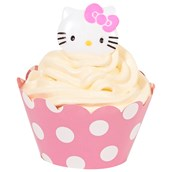 Hello Kitty Cupcake Wrapper & Pick Kit