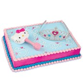 Hello Kitty Princess Cake Topper