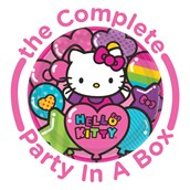 Hello Kitty Rainbow Party in a Box