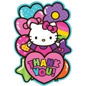 Hello Kitty Rainbow Thank You Notes (8)