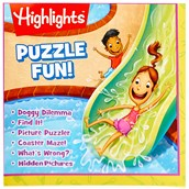 Highlights Fold Out Activity/Coloring Poster