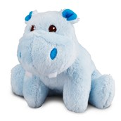 Hippo Blue Plush