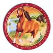 Horse Power Dinner Plates