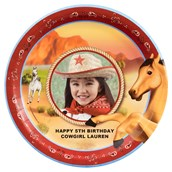 Horse Power Personalized Dinner Plates (8)