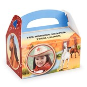 Horse Power Personalized Empty Favor Boxes (8)