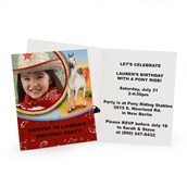 Horse Power Personalized Invitations (8)