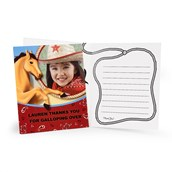 Horse Power Personalized Thank-You Notes (8)