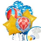 Hot Air Balloon Party Balloon Bouquet