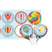 Hot Air Balloon Party Lollipop Favor Kit