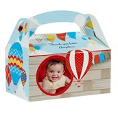 Hot Air Balloon Party Personalized Empty Favor Boxes (8)
