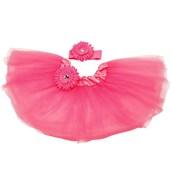 Hot Pink Tutu with Headband