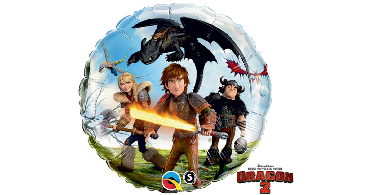 How To Train Your Dragon 2 Foil Balloon