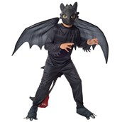 How to Train Your Dragon 2 - Night Fury Toothless Child Costume
