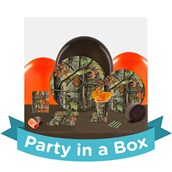 Hunting Camo Party in a Box For 8